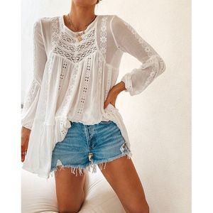 Free People Kiss Kiss Tunic S Small NWT